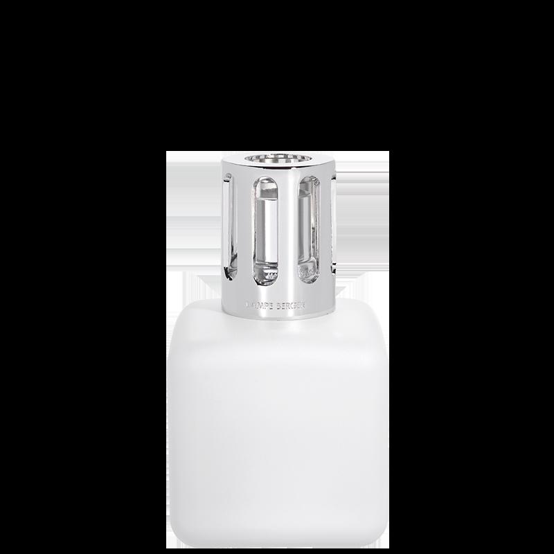 Corps de Lampe Glaçon Blanc