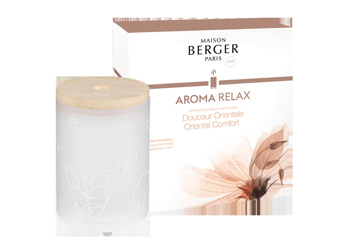 Coffret «Aroma Relax» : <br> Le Diffuseur électrique et sa recharge Aroma Relax